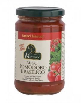 Tomato and basil sauce...