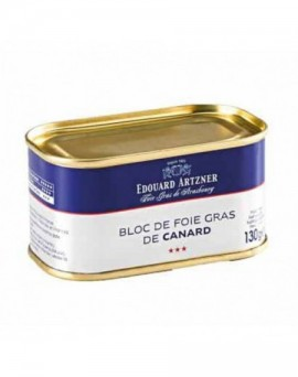 Duck liver block in a tin 200g