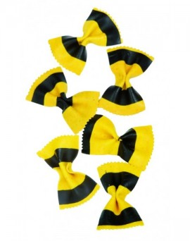 Yellow and black...